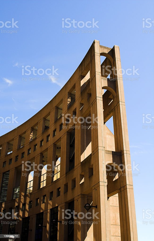 vancouver public library royalty-free stock photo