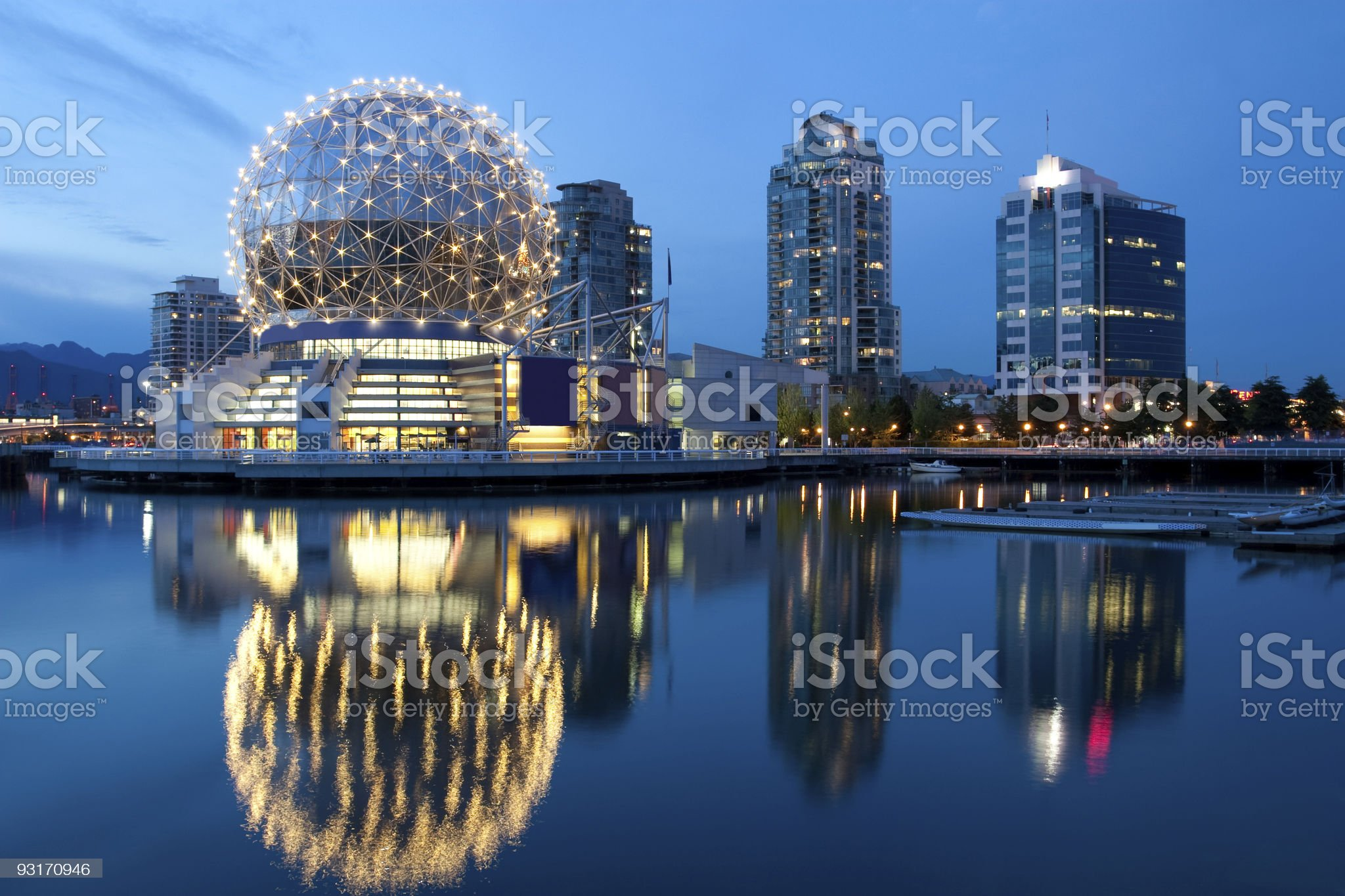 Vancouver Science World royalty-free stock photo