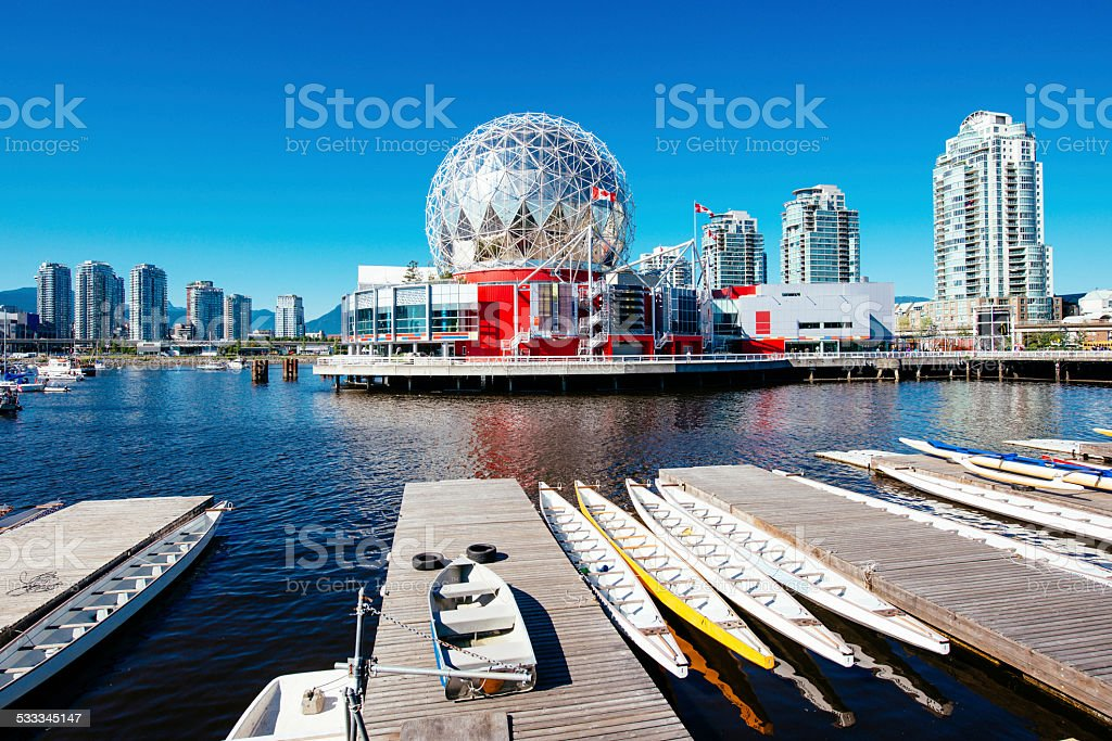 Vancouver Skyline Canada stock photo