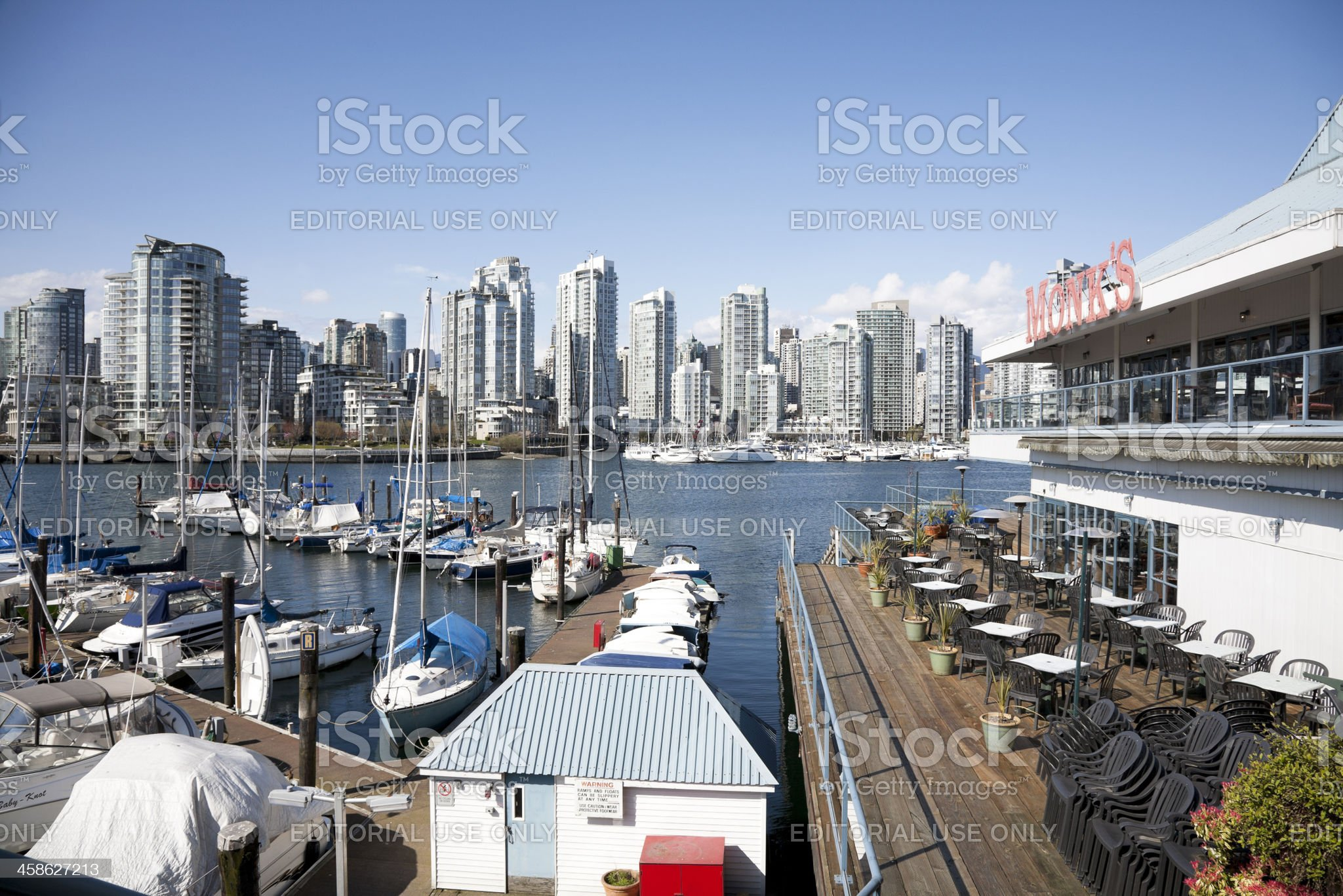 Vancouver Skyline royalty-free stock photo
