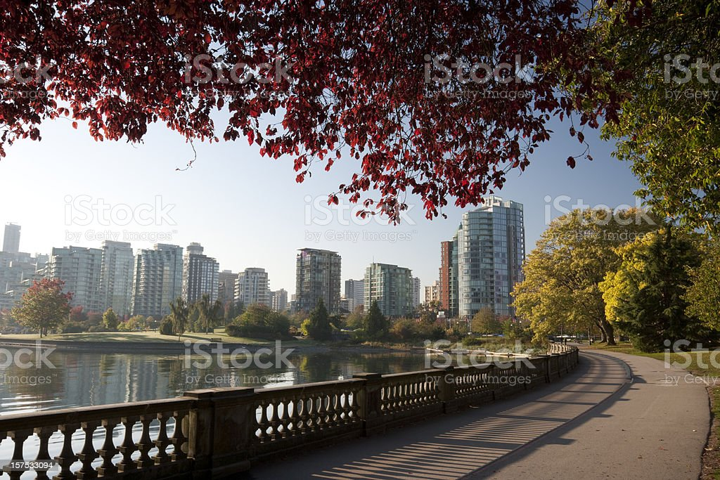 Vancouver Stanley Park royalty-free stock photo