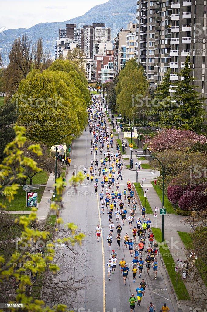 2013 Vancouver Sun Run royalty-free stock photo