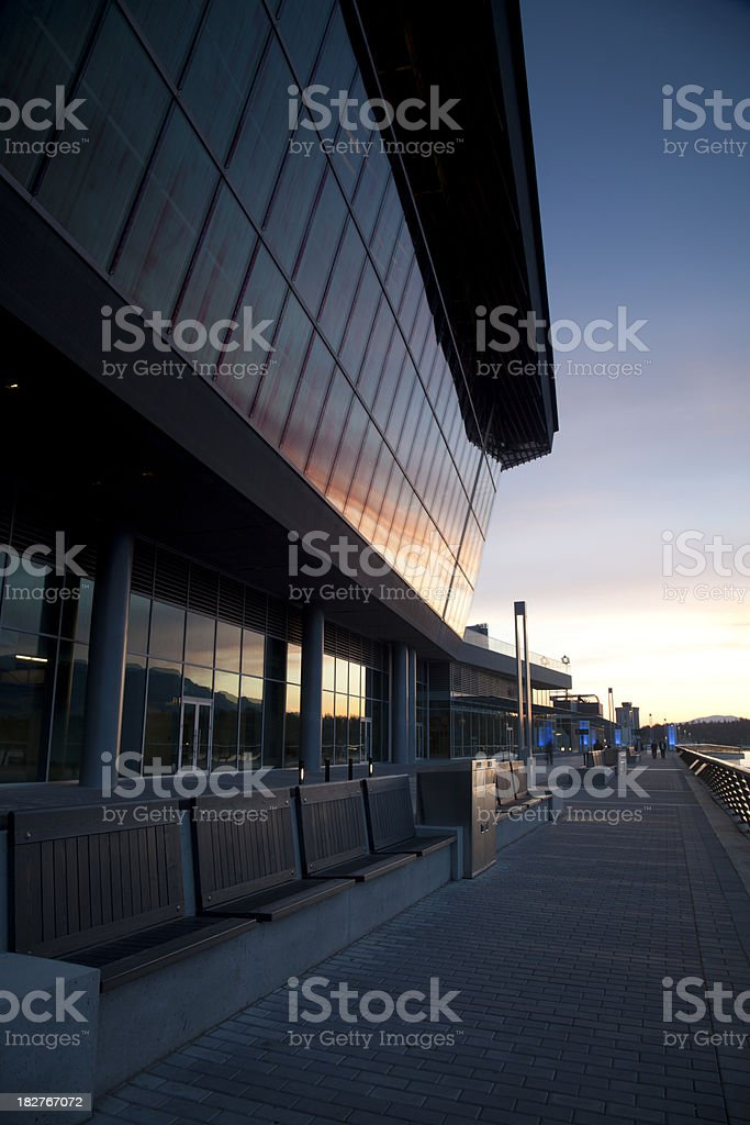 Vancouver Trade and Convention Center stock photo