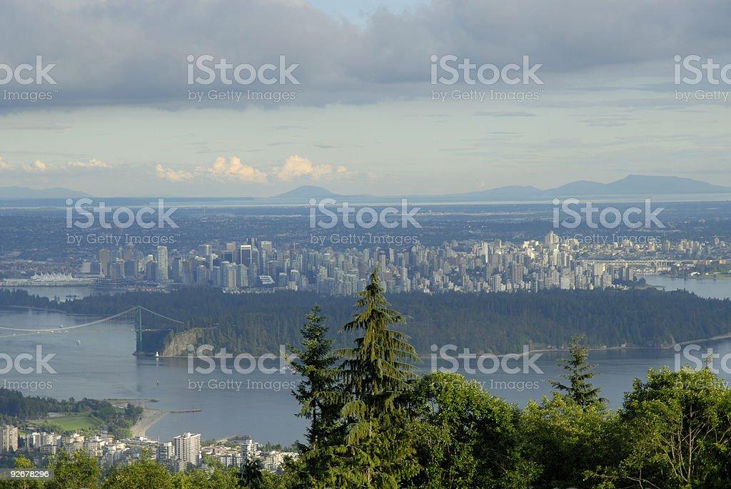 Vancouver Vista stock photo