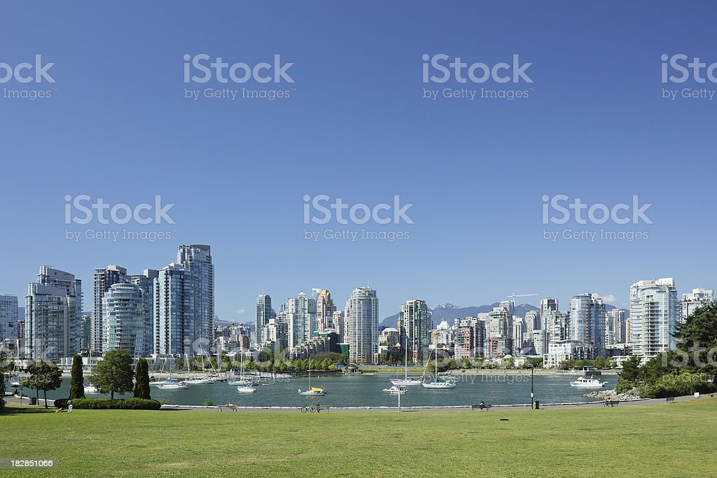 Vancouver Waterfront royalty-free stock photo