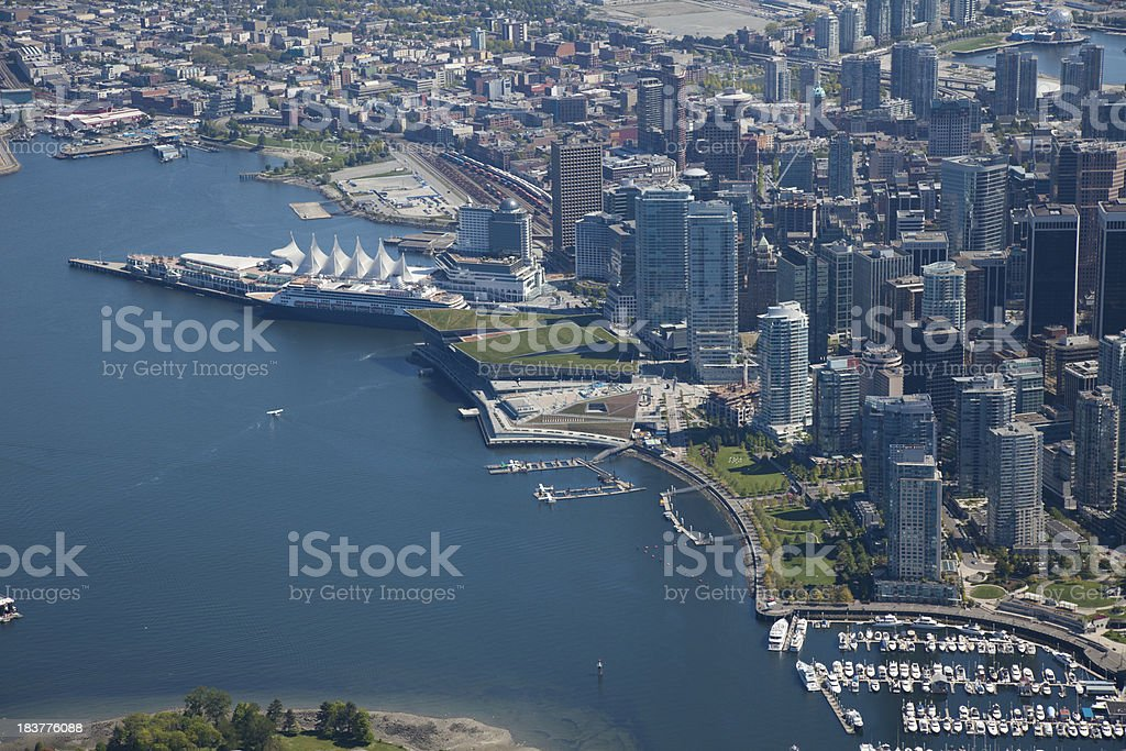 Vancouver Waterfront stock photo