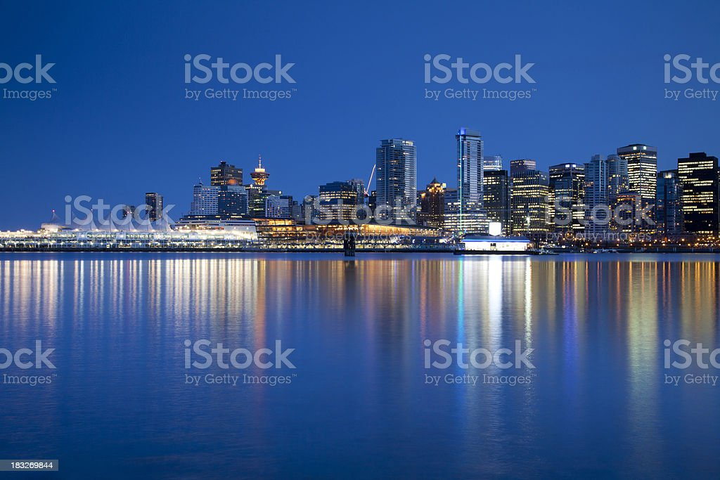 Vancouver Waterfront Skyline stock photo