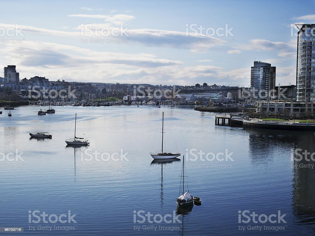 Vancouver - Waterview royalty-free stock photo