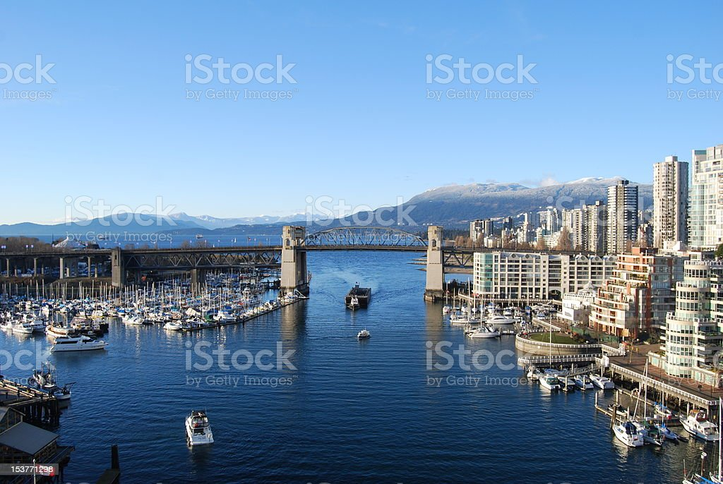 Vancouver winter royalty-free stock photo