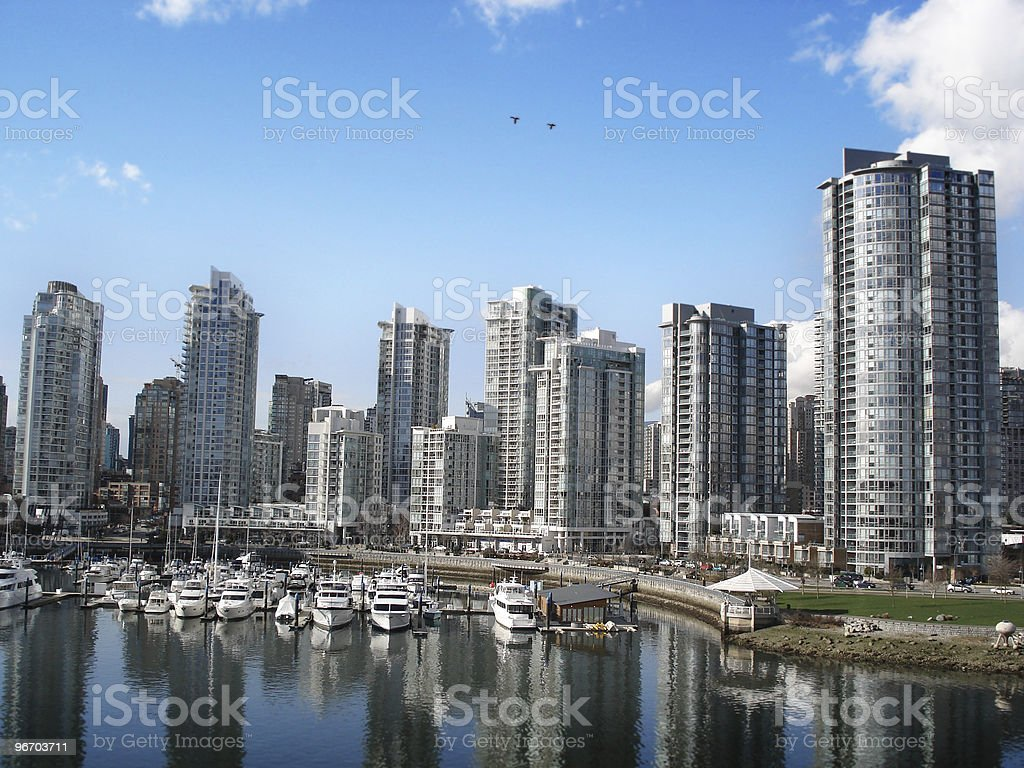 Vancouver, Yaletown royalty-free stock photo