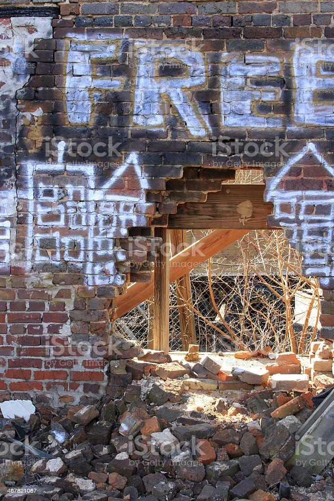 Vandals royalty-free stock photo