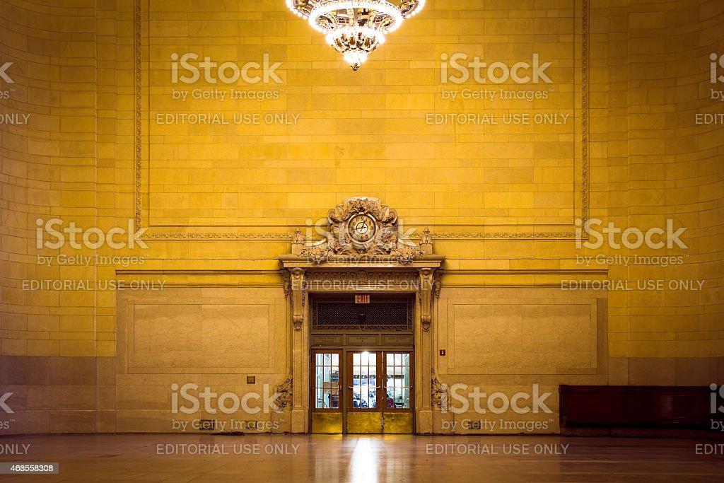 Vanderbilt Hall Grand Central Station stock photo