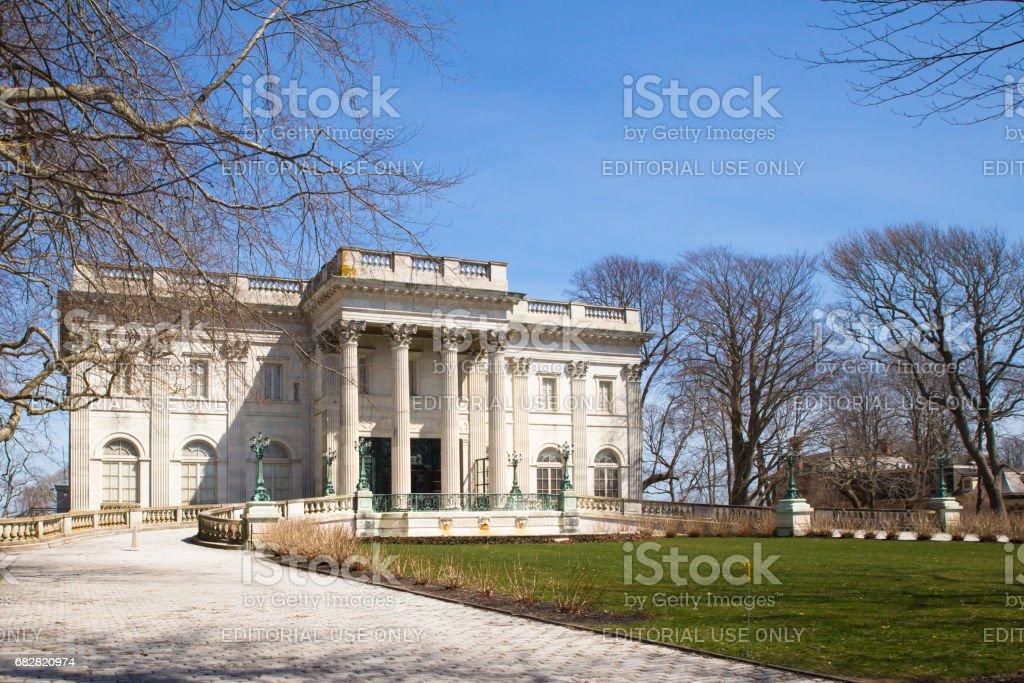 Vanderbilt Marble House stock photo