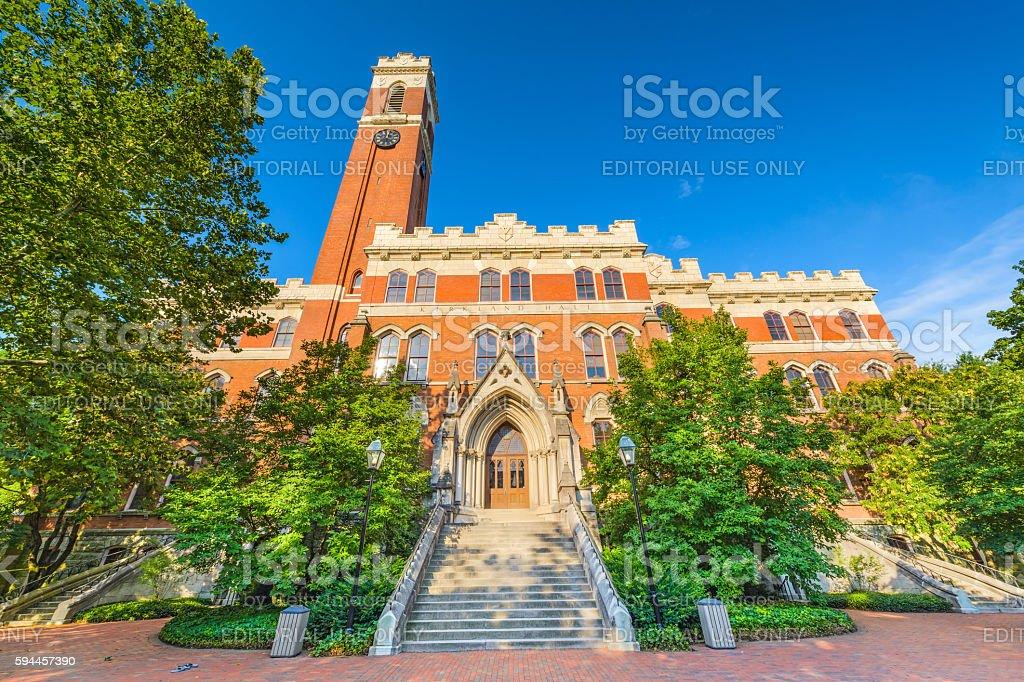 Vanderbilt University in Nashville stock photo