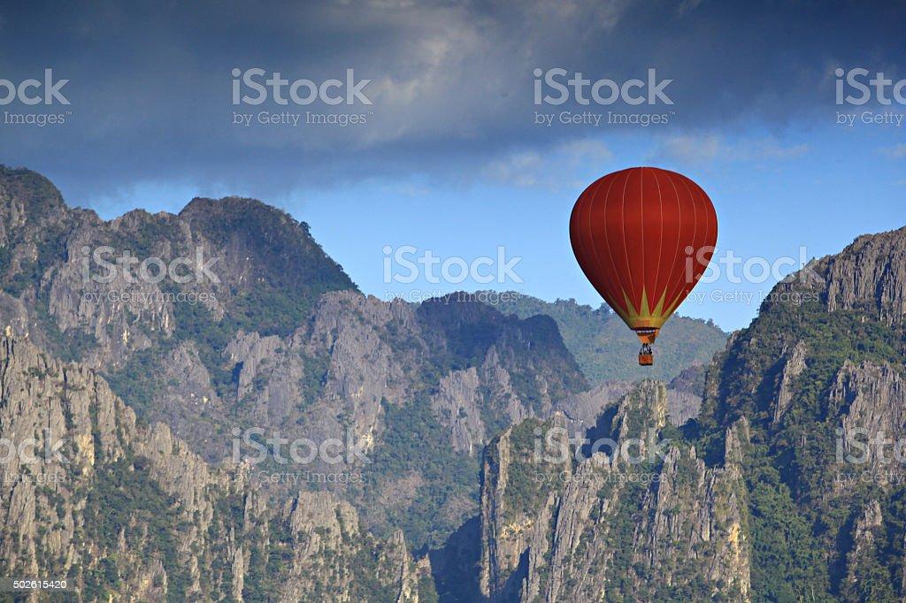 Vang Vieng Laos stock photo