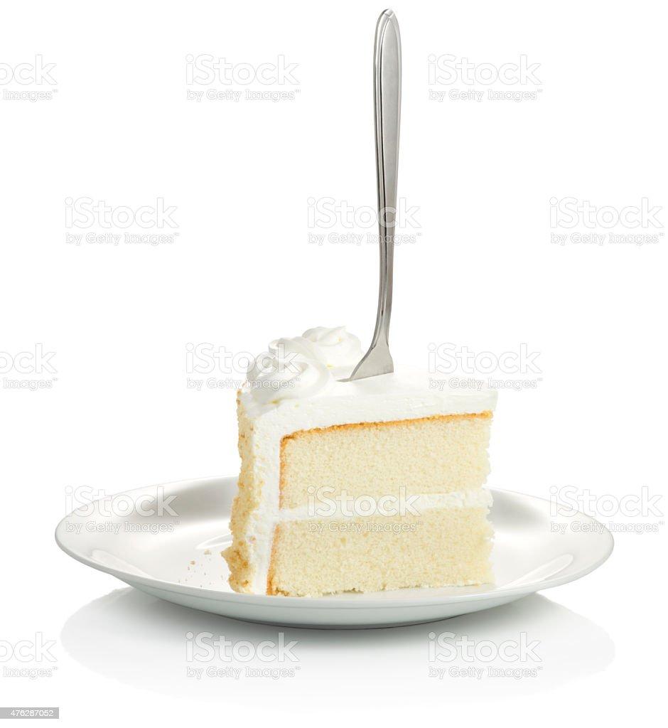 Vanilla Cake stock photo