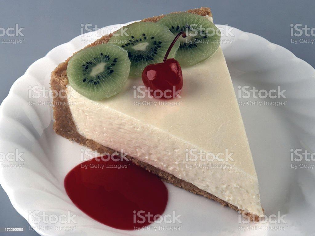 vanilla Cheese Cake stock photo