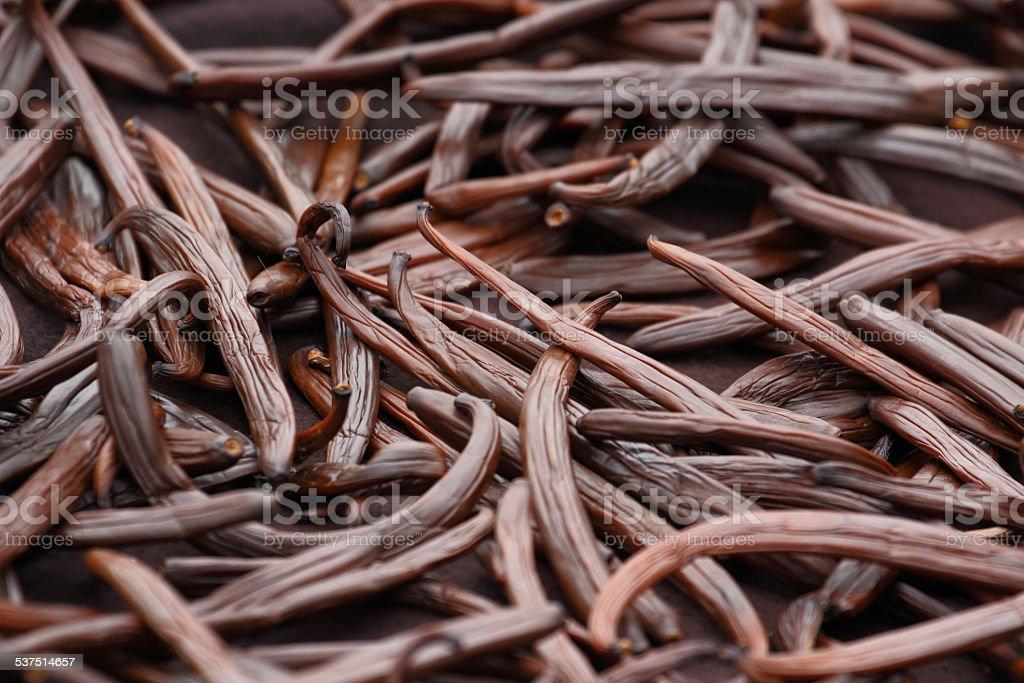 Vanilla dry fruit stock photo