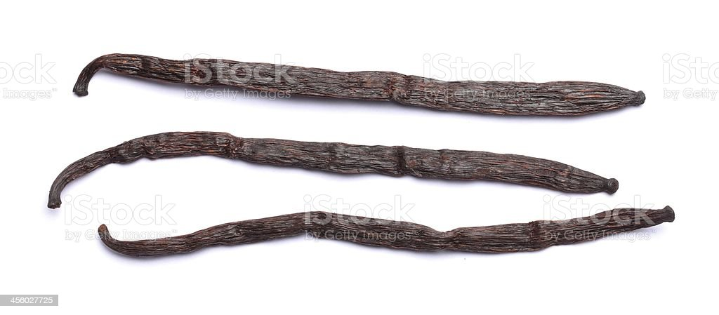 Vanilla stock photo