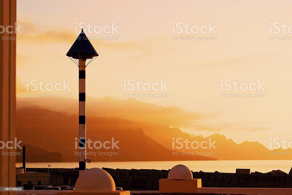 Vanilla Sky stock photo