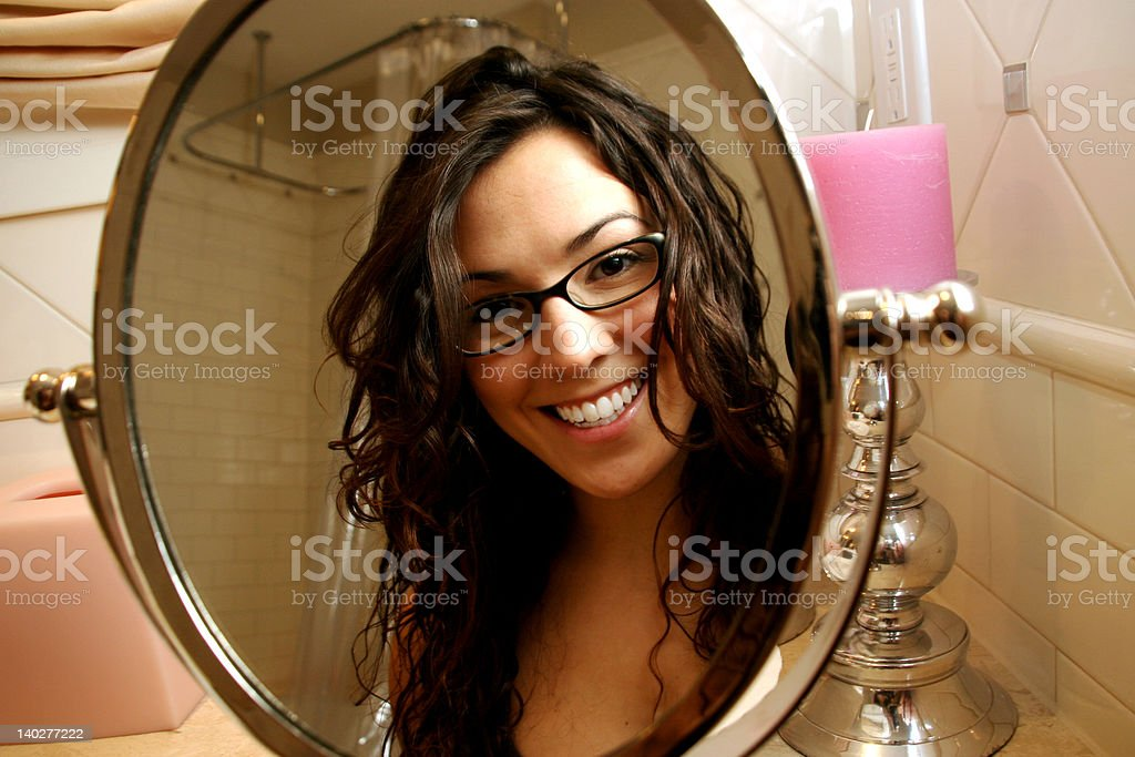 Vanity Mirror royalty-free stock photo