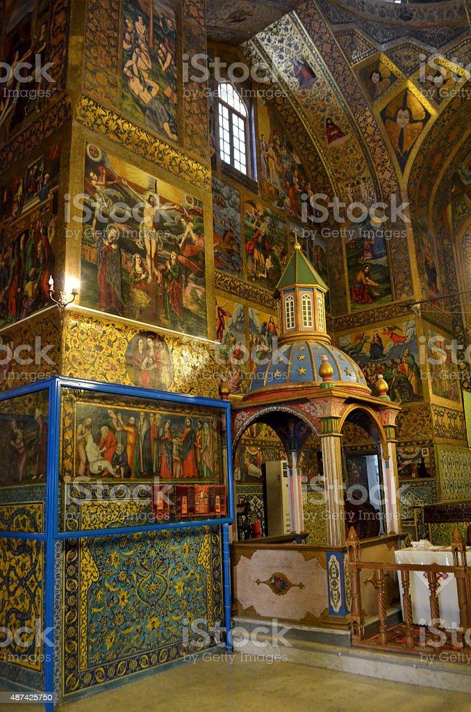 Vank Cathedral, Esfahan / Iran stock photo