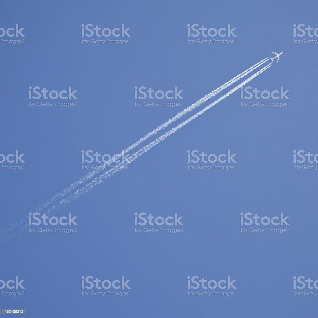 Vapor stripes # 9 royalty-free stock photo