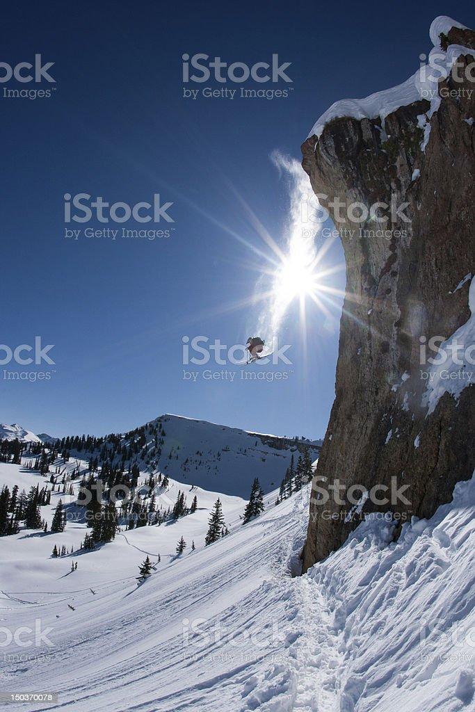 Vapor Trail royalty-free stock photo