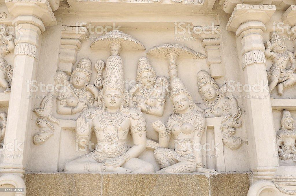 Varadaraja Perumal Temple royalty-free stock photo