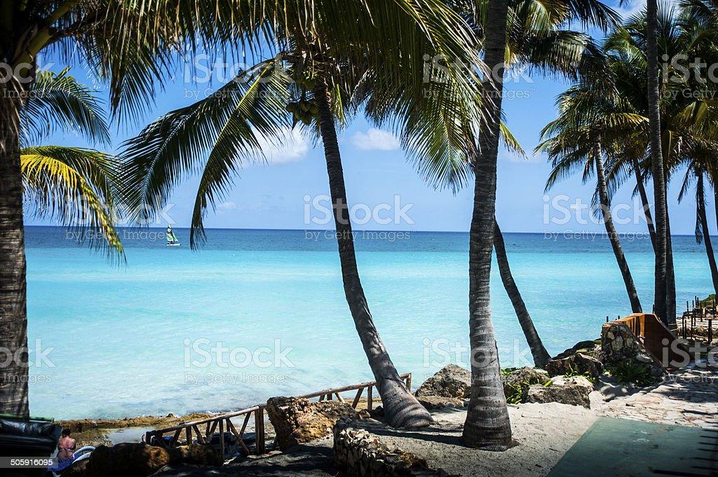 Varadero Beach, Cuba stock photo