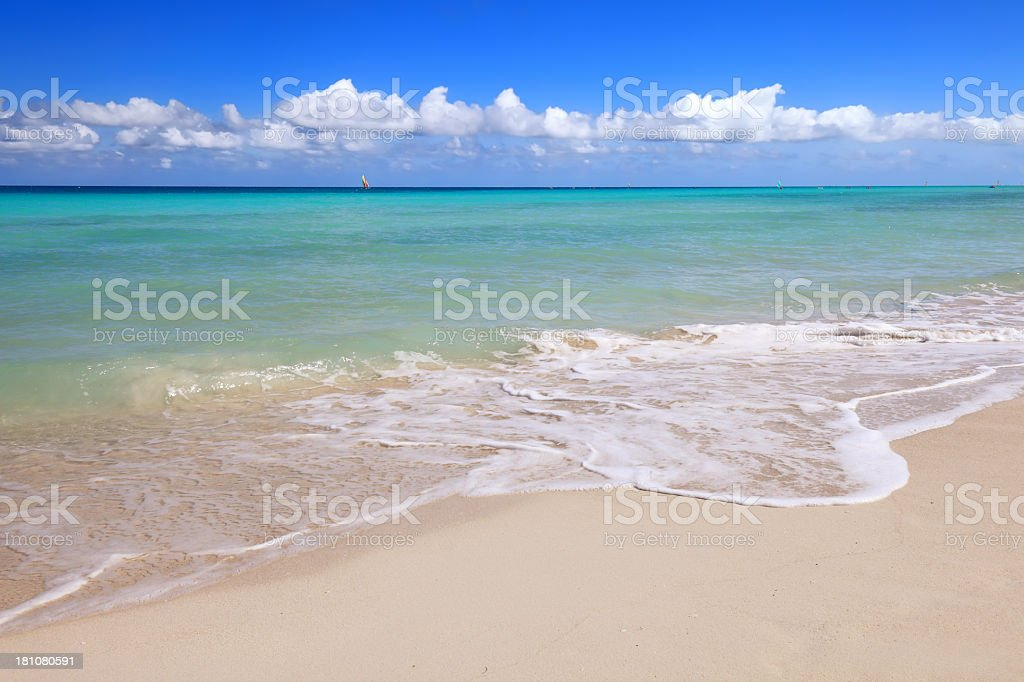 Varadero Beach royalty-free stock photo