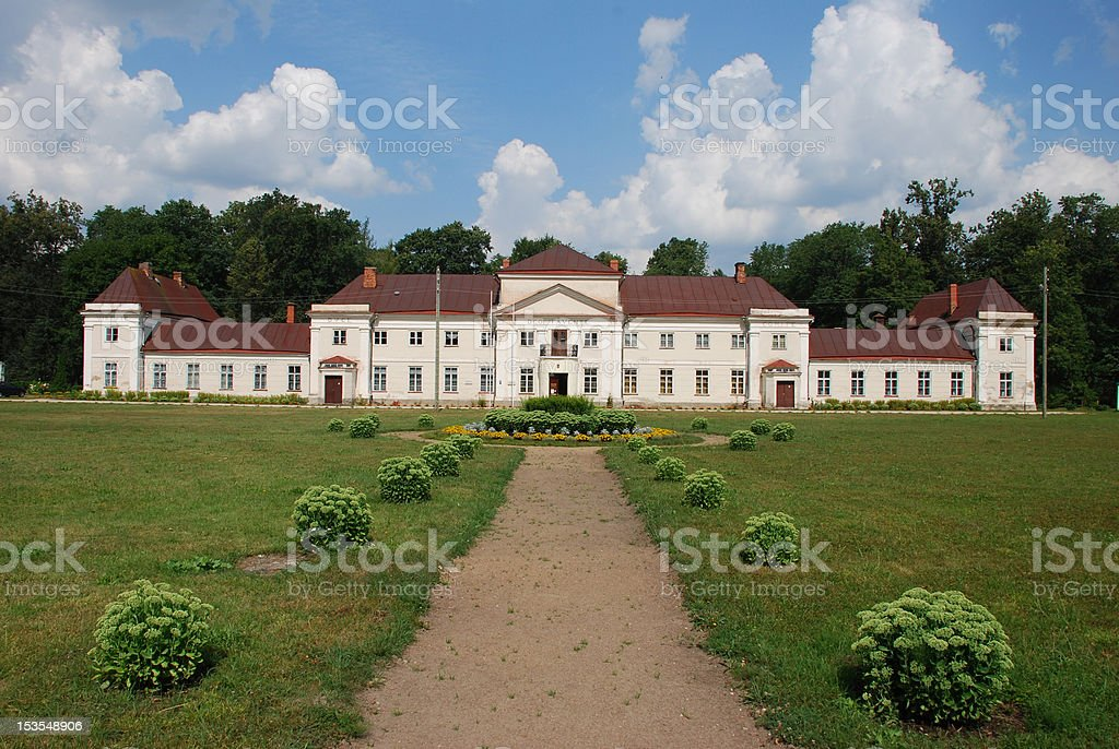 Varaklani palace royalty-free stock photo