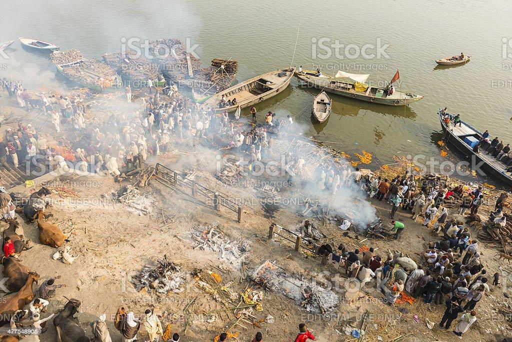 Varanasi India royalty-free stock photo