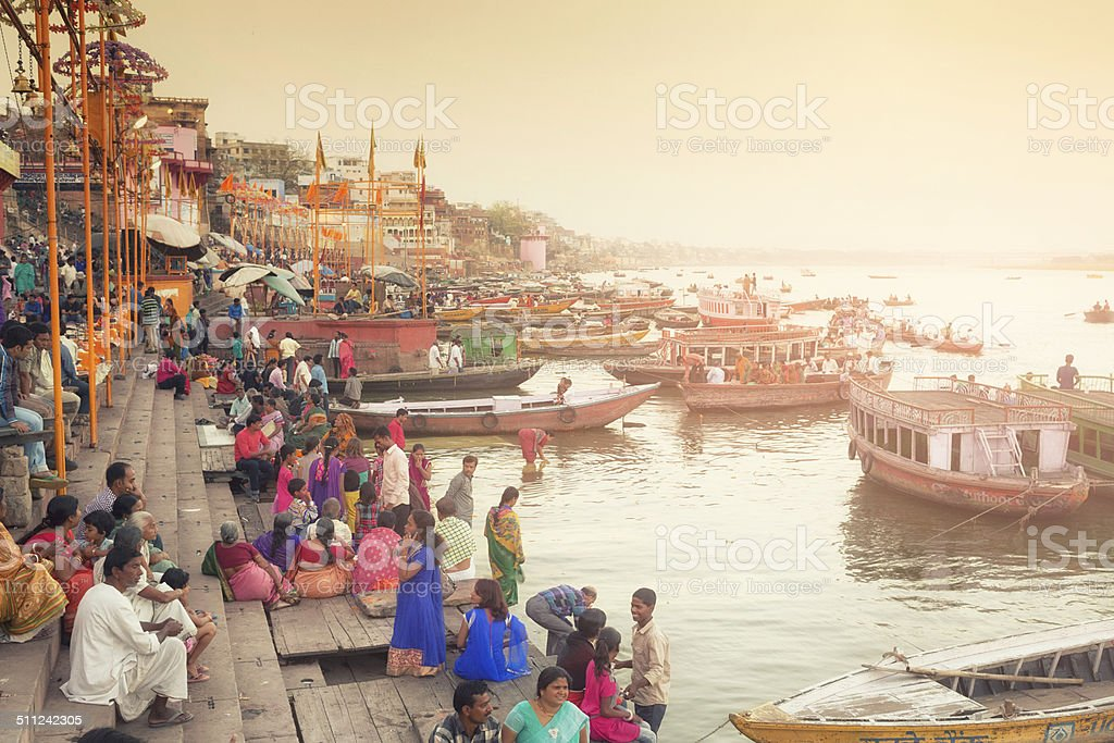 Varanasi, India stock photo