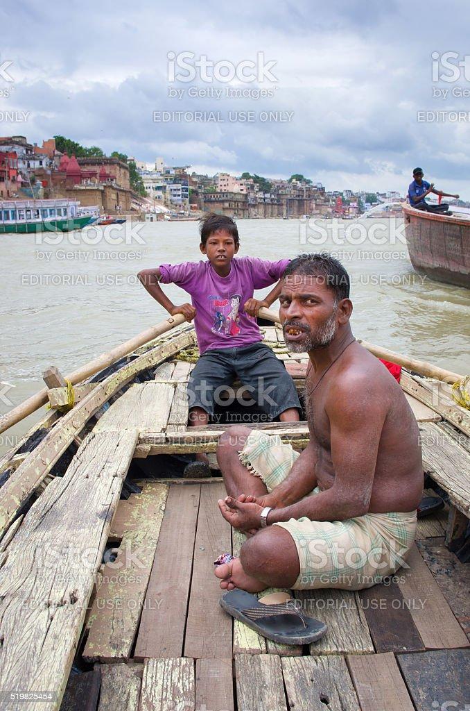 Varanasi India. stock photo