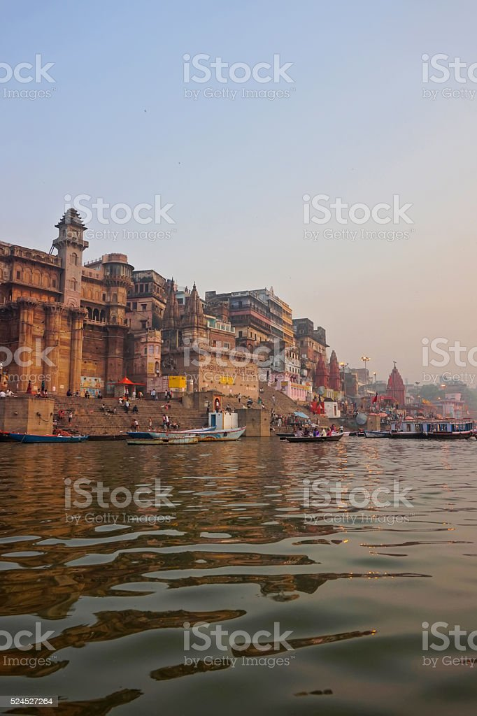 Varanasi, India . stock photo