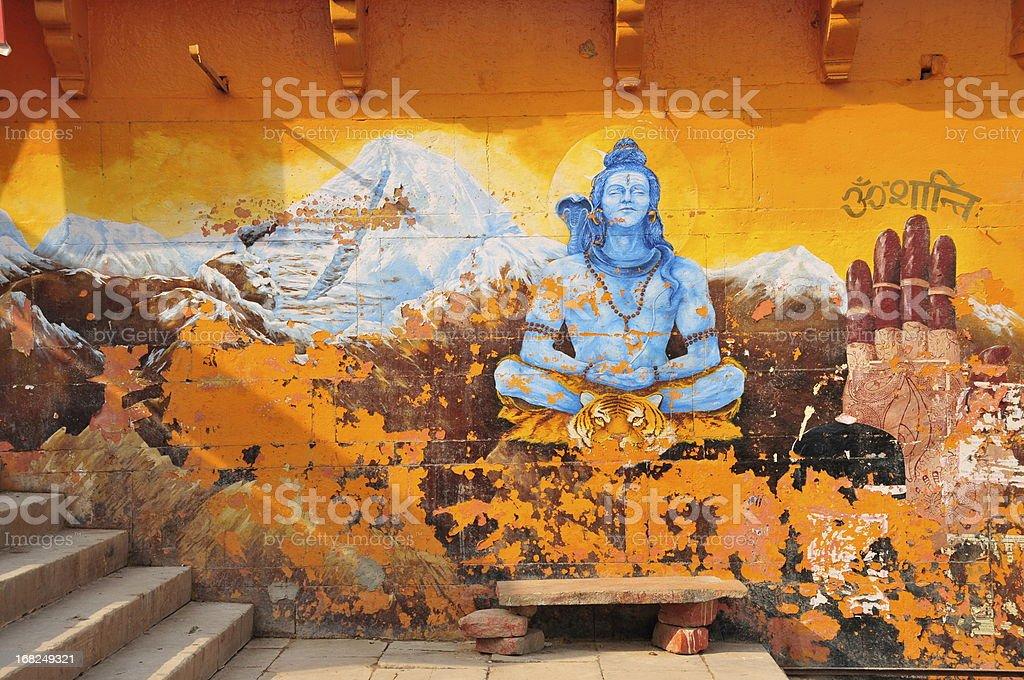 Varanasi,Uttar Pradesh,India. royalty-free stock photo