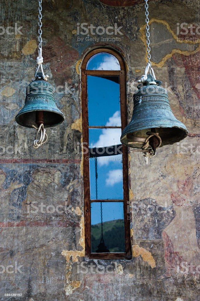 Vardzia Bells stock photo