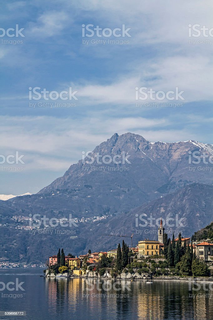 Varenna stock photo