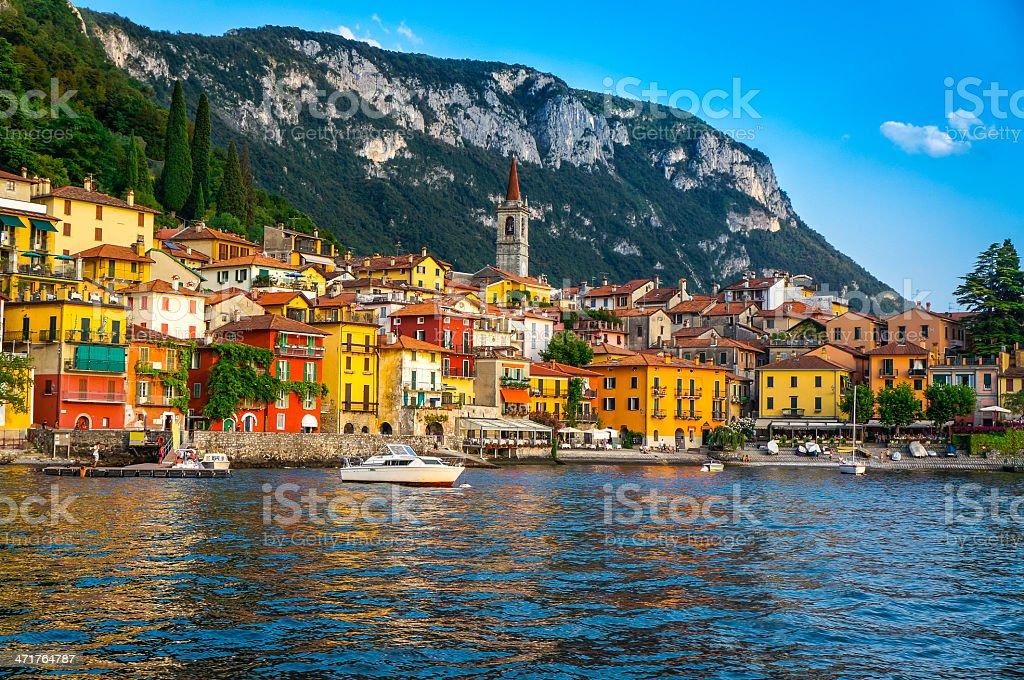 Varenna, Lago di Como, Lombardy, Italy stock photo