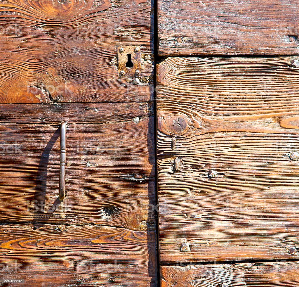 varese  sumirago  abstract     closed wood lombardy italy stock photo