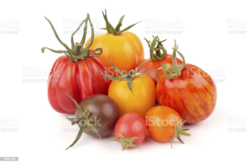 Variation Of Juicy Tomatoes (XXXL) stock photo