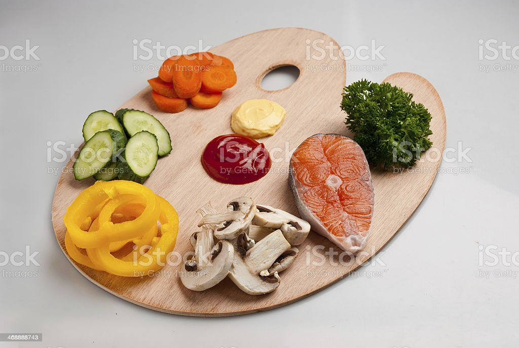 Variations diet  products for human royalty-free stock photo