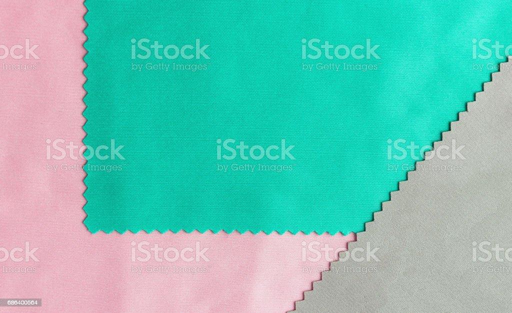 Varicolored Textile Texture Background stock photo