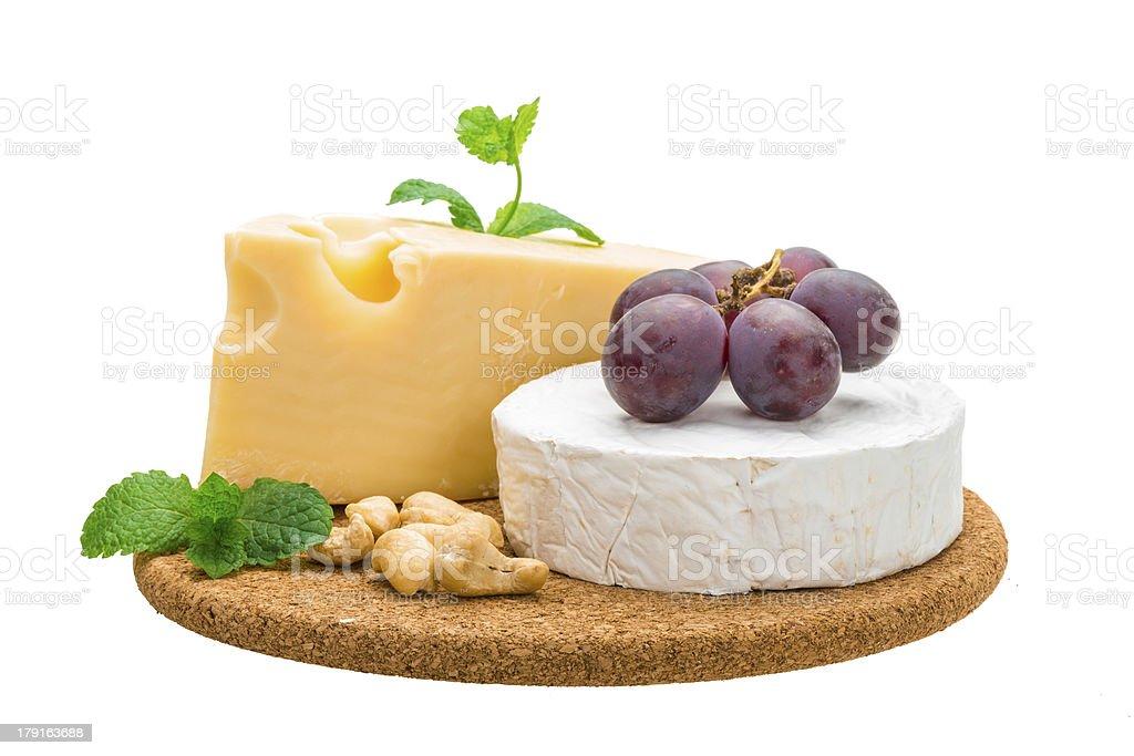 Variety cheese royalty-free stock photo
