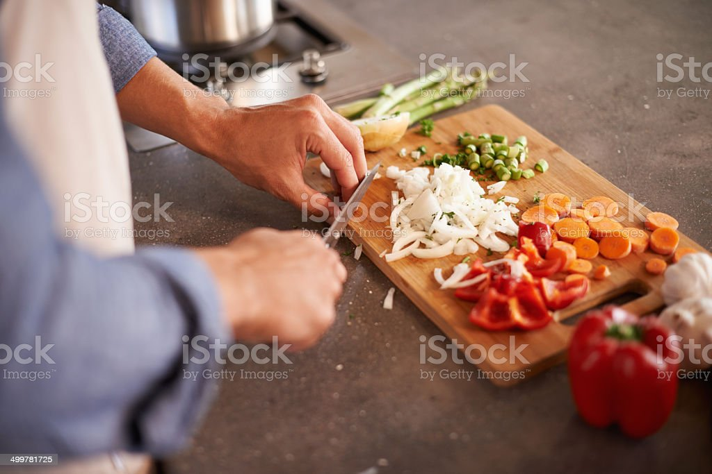 Variety is the spice of life stock photo
