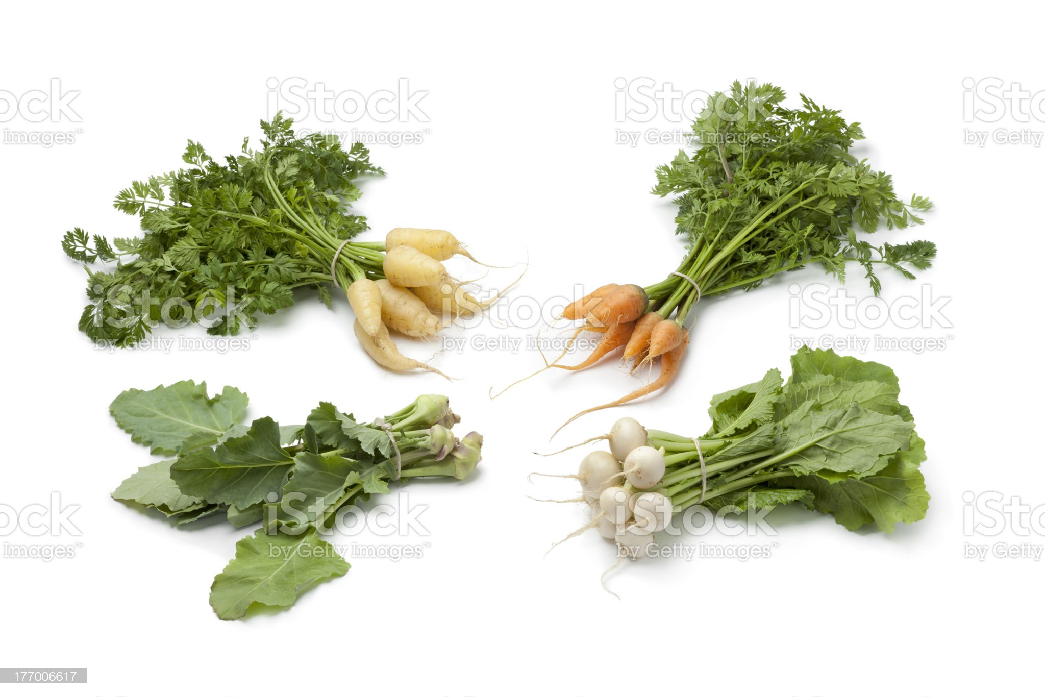 Variety of baby vegetables royalty-free stock photo
