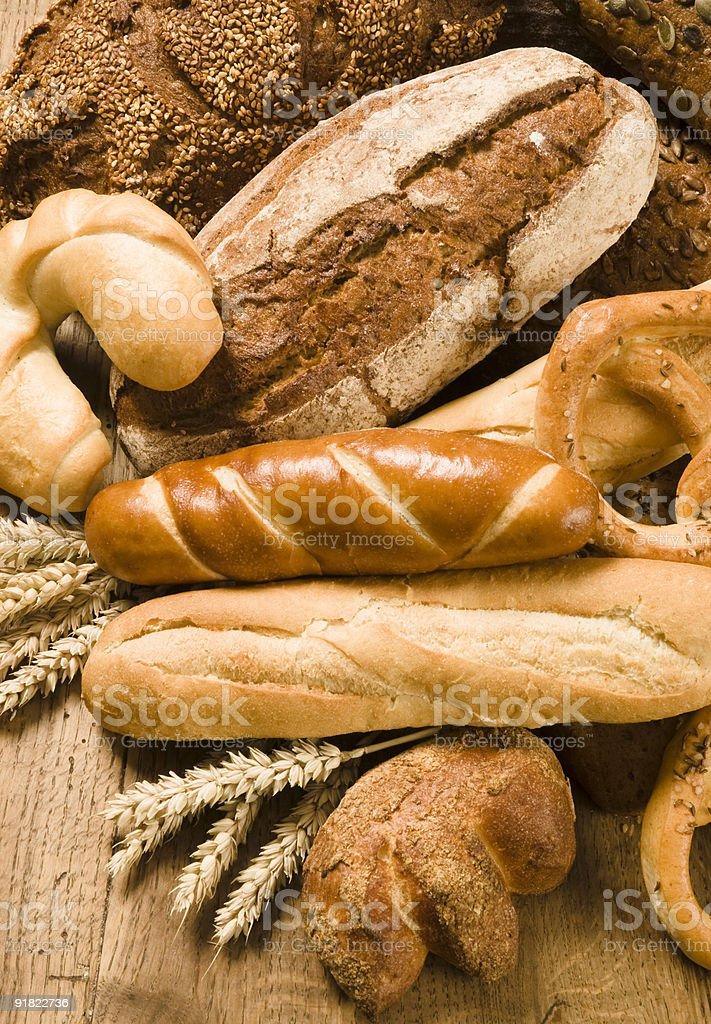 Различные запеченные продукты Стоковые фото Стоковая фотография