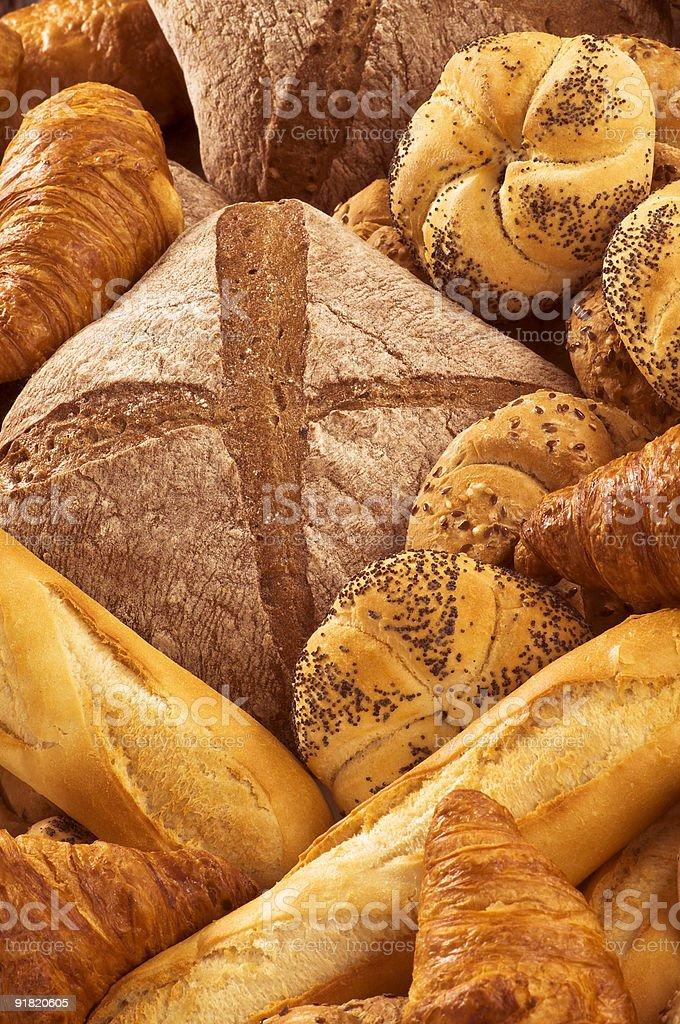 Выбор хлеб Стоковые фото Стоковая фотография