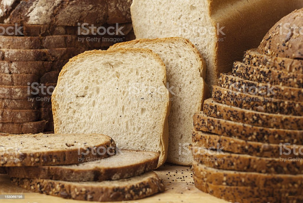 Variety of Breads stock photo